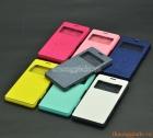 Bao da cầm tay Sony Xperia Z3, D6603, L55 (Có cửa sổ view, hiệu MERCURY)