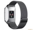 Dây đồng hồ thông minh Fitbit Ionic (thép không gỉ, mắt lưới siêu nhỏ)