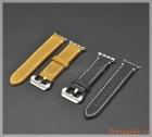 Dây đeo tay thay thế Apple Watch 42mm (da bò, mẫu 2)