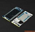 Thay vành viền Bracket ôm quanh mặt màn hình LCD Sony Xperia C5 Màu Trắng