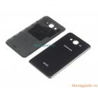 Nắp lưng,nắp đậy pin Samsung Galaxy J7 (2015) Màu Đen Chính Hãng