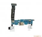Thay bo cáp chân sạc+mic+phím home+back+option Samsung Note 4 N910C N910F