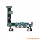 Thay bo chân sạc+phím home+mic Samsung Galaxy S6 Edge Plus G928A, G928T