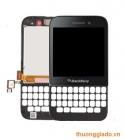 Thay màn hình và cảm ứng BlackBerry Q5 (full bộ, gồm cả vỏ mặt trước)