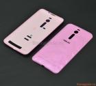 """Nắp lưng (nắp đậy pin) Asus Zenfone 2 5.5"""" ZE551 Màu hồng (vân nổi kim cương)"""