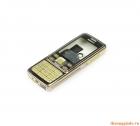 Vỏ Nokia 6300 màu vàng gold+coffee