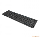 Bàn phím bluetooth đa năng (2 khúc) F66 Foldable Bluetooth Keyboard