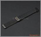 Dây đồng hồ Samsung Gear S2 Classic (màu đen, thép không gỉ mắt lưới)