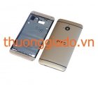 Vỏ HTC One (M7) Gold Chính Hãng-Original Housing