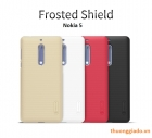"Ốp lưng sần NillKin Nokia 5 (5.2"") Super Frosted Shield"