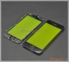 Thay mặt kính (ép kính) màn hình iPhone 5 màu đen (có sẵn gioăng nhựa)