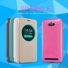 Bao Da Cầm Tay Có Cửa Sổ View cho Asus Zenfone Max ZC550KL