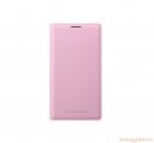 Bao Da Samsung Galaxy Note 3 Flip  Wallet Cover Màu Hồng