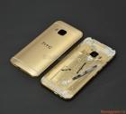 Nắp lưng (nắp đậy pin) HTC One M9 Màu Vàng Gold Housing Back Battery Cover Case