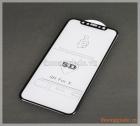 """Dán kính cường lực iPhone X (5.8""""), loại 5D, full màn hình"""