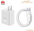 Bộ củ+cáp sạc type-c usb Huawei AP81 (HW-050450C00) 4.5V/ 5A chính hãng