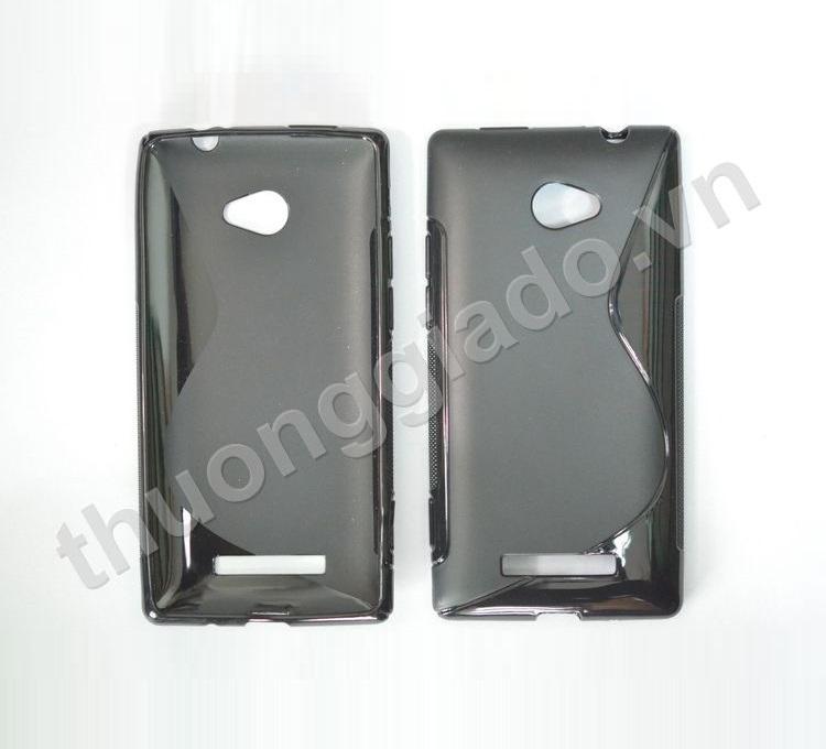 Ốp lưng Silicone cho HTC 8X (hiệu S Line)