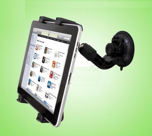 Kệ giữ iPad 1,iPad 2,iPad 3,iPad 4,iPad Air,iPad  Air 2, iPad Pro 9.7 trên ôtô