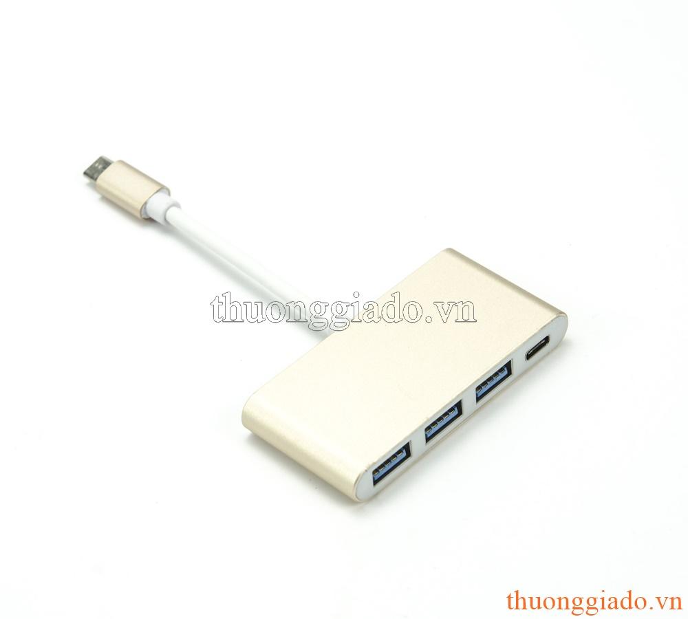 USB Type-C Hub (1 usb type c ra 3 usb 3.0)