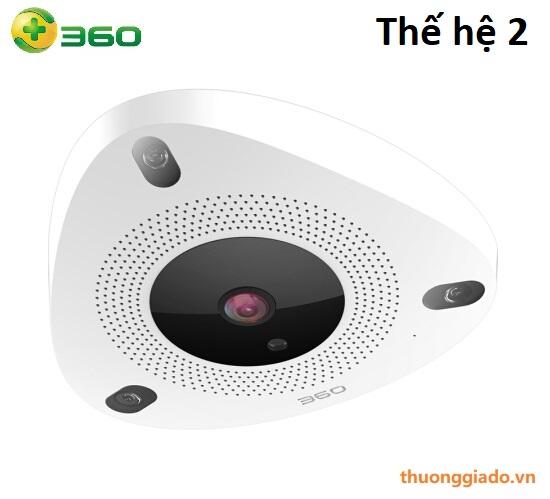 Camera gắn trần QIHOO 360 D688-02 (5M, full HD, góc nhìn toàn cảnh, bắt chuyển động)