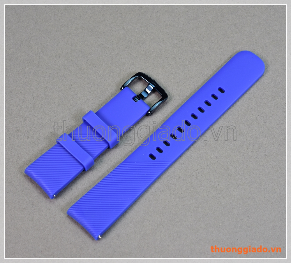 Dây đồng hồ Samsung Gear Sport, Gear S2 Classic, Galaxy Watch 42mm chính hãng (màu xanh)