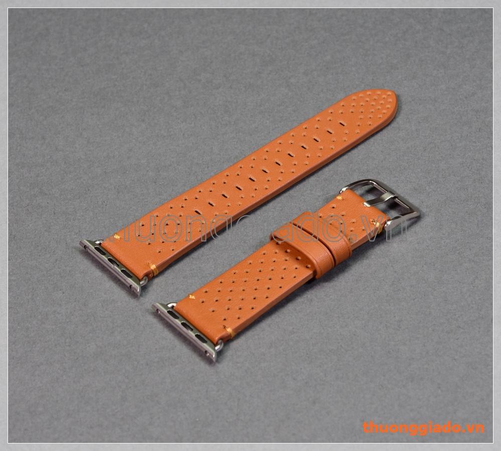 Dây đồng hồ Apple Watch 38mm (chất liệu da bò, Nike Edition, mẫu 2)