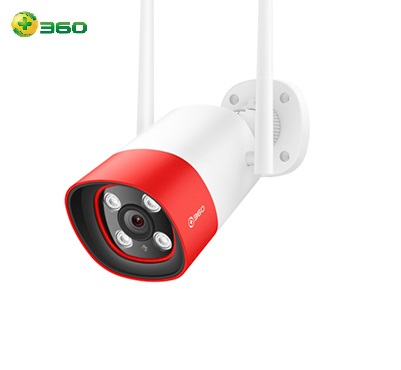 Camera Qihoo 360 D801 ngoài trời (1080P, góc nhìn120°, báo động âm thanh và ánh sáng)