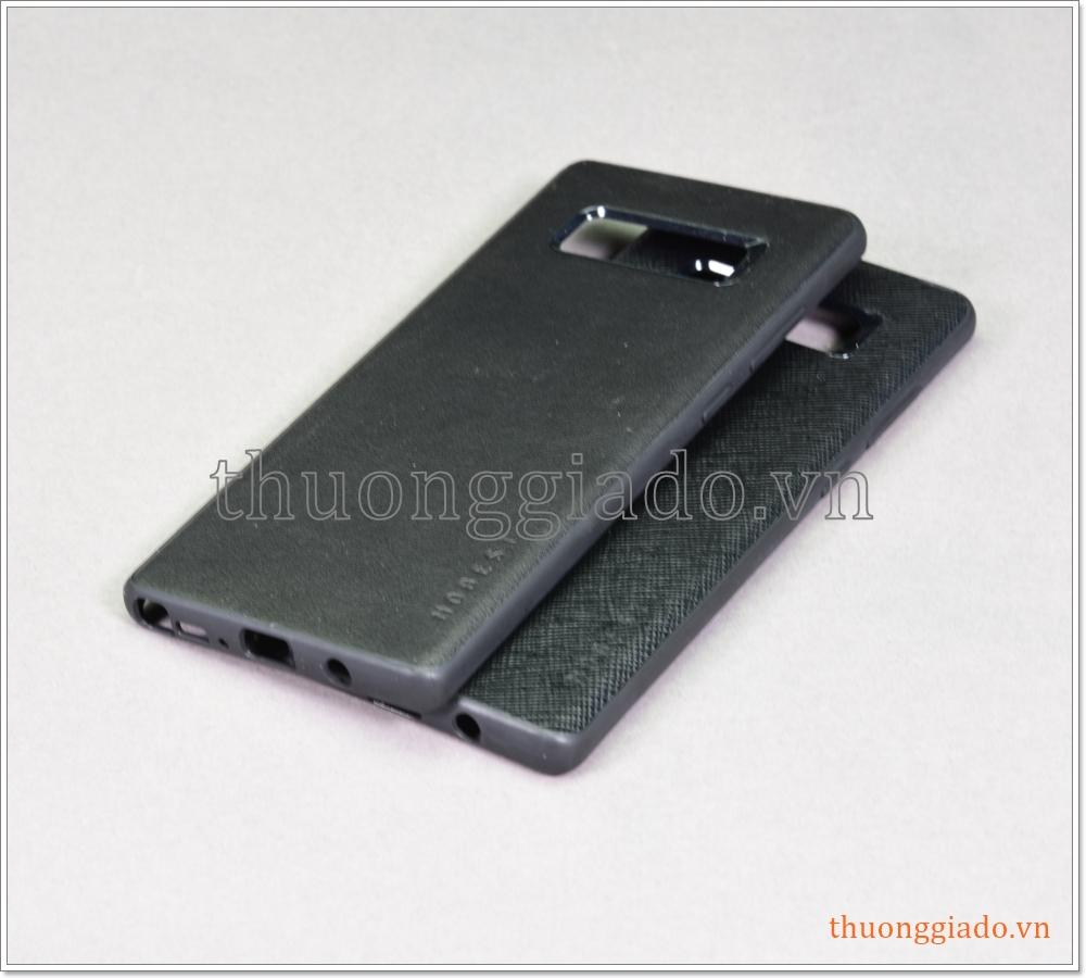 Ốp lưng da chống sốc Samsung Galaxy Note 8/ N950, chống va đập hiệu Mobest
