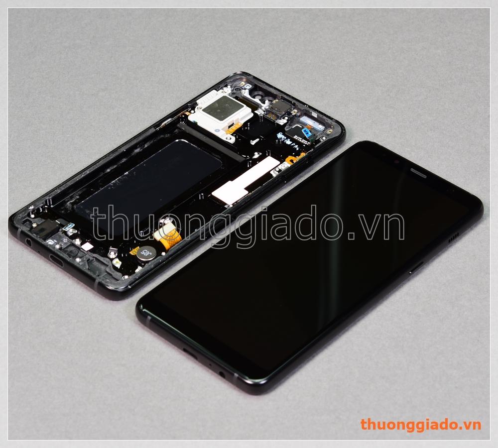 Thay màn hình Samsung Galaxy A8+/ A8 Plus/ A730 nguyên bộ chính hãng, kèm viền benzel