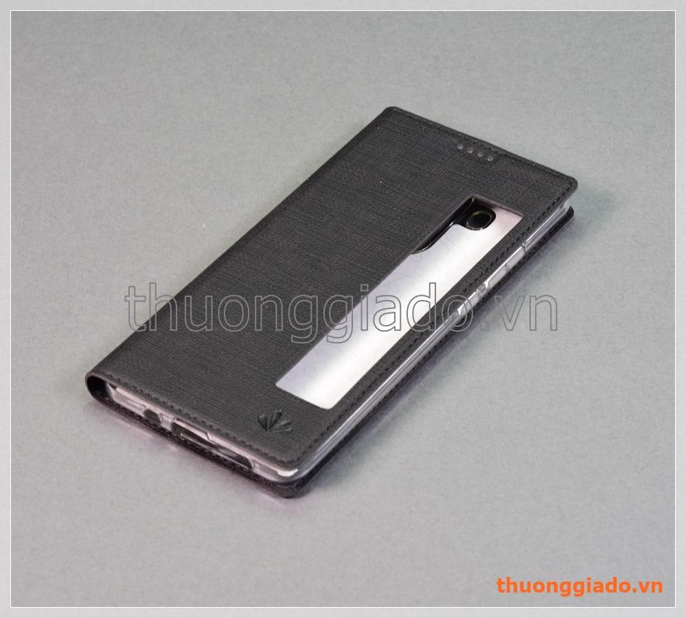 Bao da Huawei Huawei Mate 10 Pro, bao da cầm tay có cửa sổ view, hiệu Vili