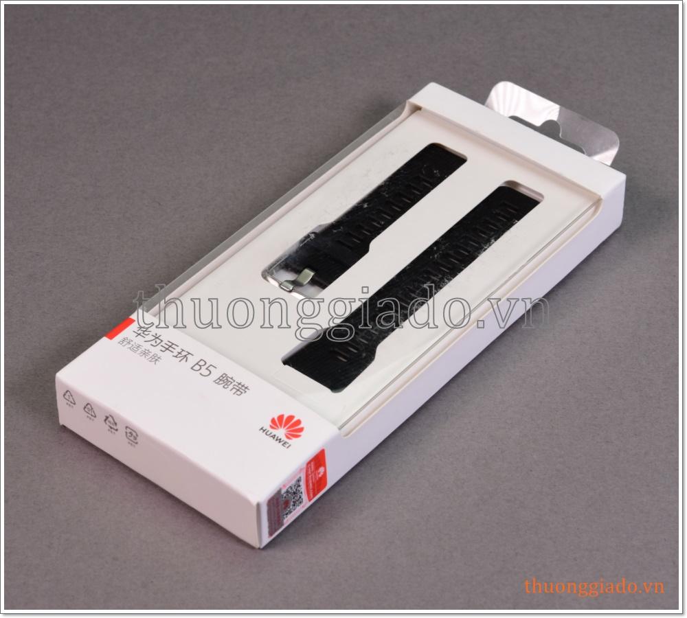 Dây đeo tay thay thế cho Huawei Talkband B5 (hàng chính hãng, chất liệu cao su)