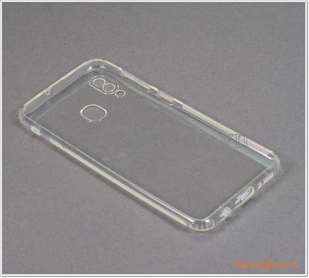 Ốp lưng silicone Samsung Galaxy A30/ A305 (ốp mềm trong suốt, hiệu Aolibao)