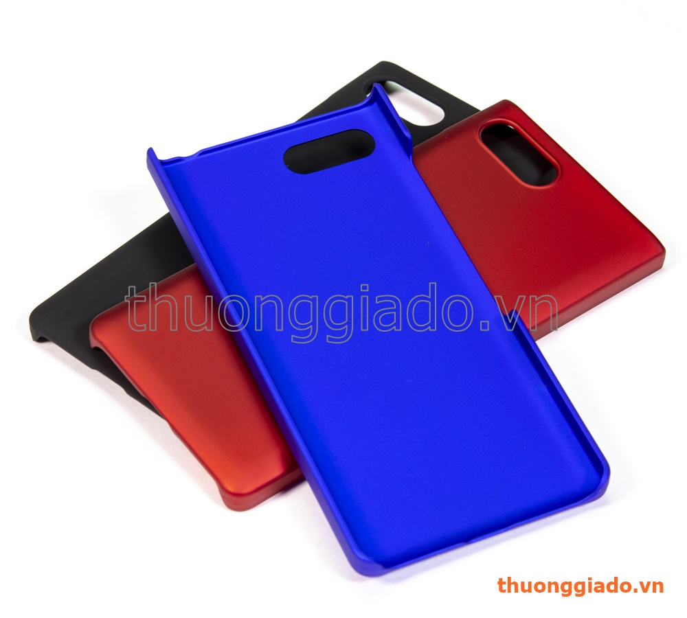 Ốp lưng nhựa cho Blackberry Key 2/ Key2/ Key Two (nhựa cứng, màu sắc)