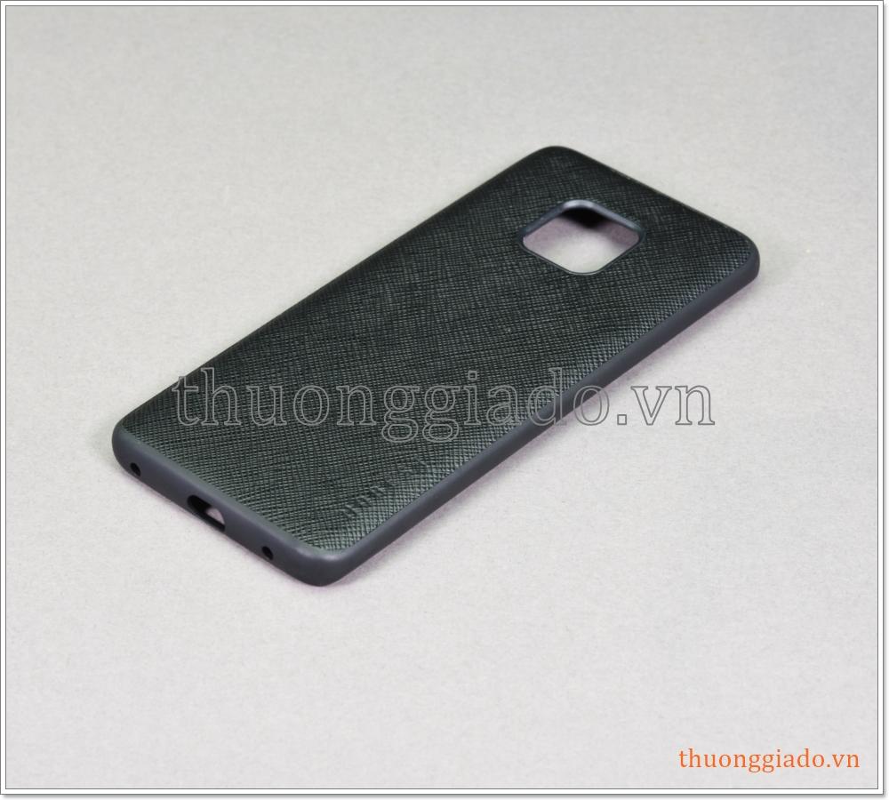 Ốp lưng da chống sốc Huawei Mate 20 Pro, chống va đập hiệu Mobest