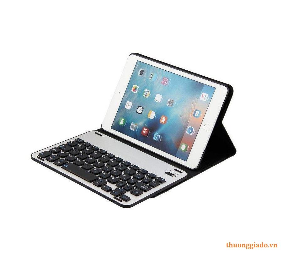 Bàn phím bluetooth iPad mini 1, mini 2, mini 3 Smart Keyboard Case (FT - 1008), kèm bao da