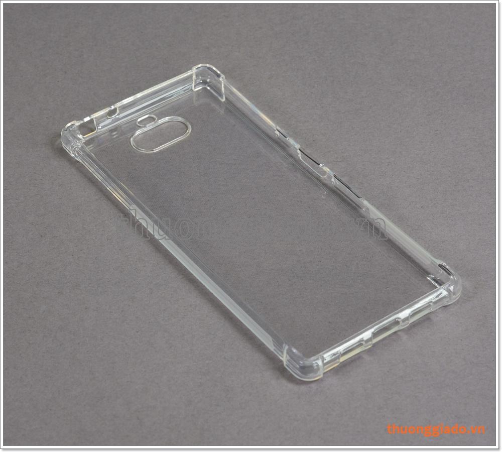 Ốp lưng Silicone Sony Xperia 10 Plus/ Xperia 10+, tăng cường chống sốc 4 góc