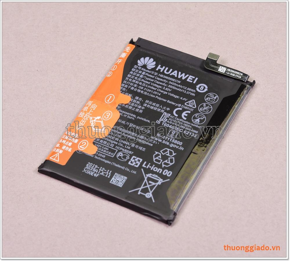 Thay pin Huawei Nova 5 Pro, model HB396589ECW, dung lượng 3500mAh