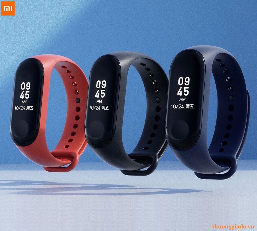 Vòng đeo tay Xiaomi Mi Band 3 (nhịp tim, bước đi, giấc ngủ, hiện số gọi đến)