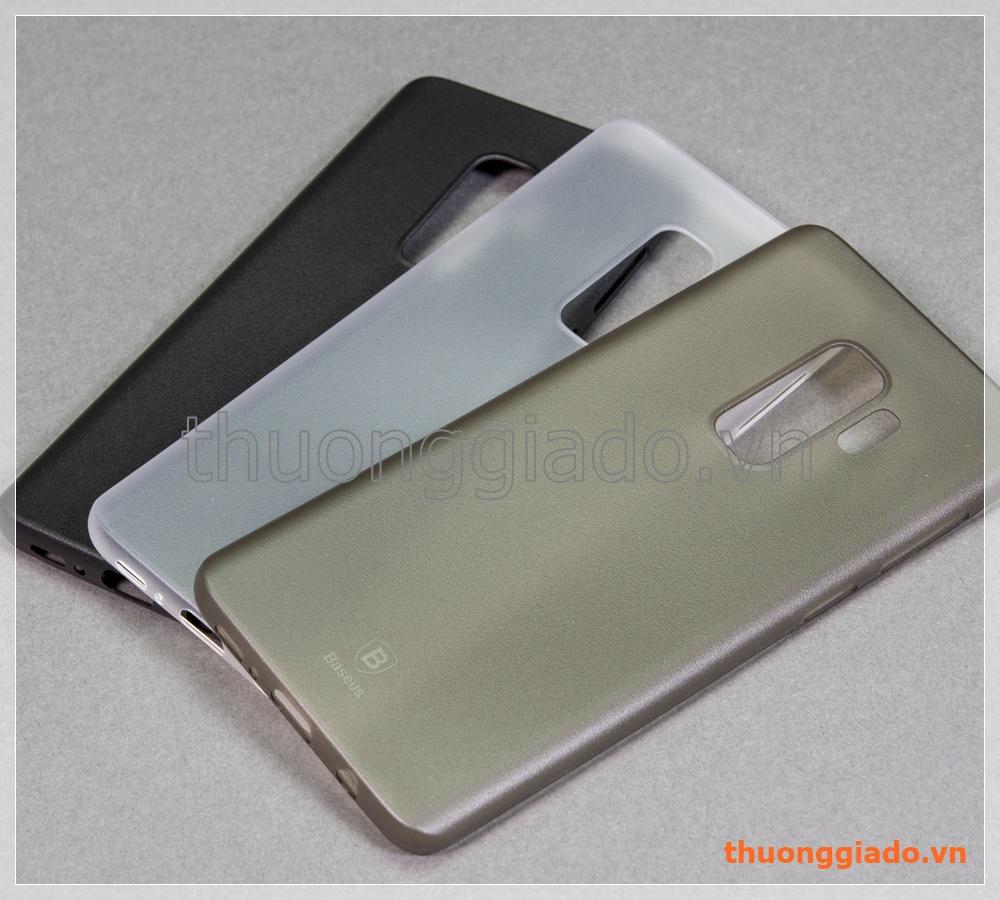Ốp nhựa siêu mỏng Samsung Galaxy S9+/ S9 Plus G965 (hiệu Baseus, Wing Case)