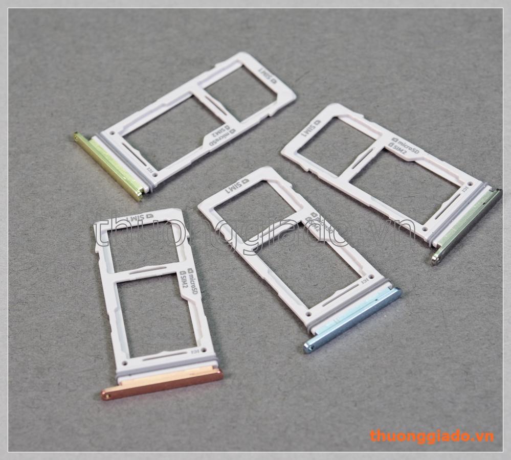 """Khay sim Samsung Galaxy S10e (5.8"""")/ G970, bản 2 sim, gồm cả ngăn đựng thẻ nhớ"""