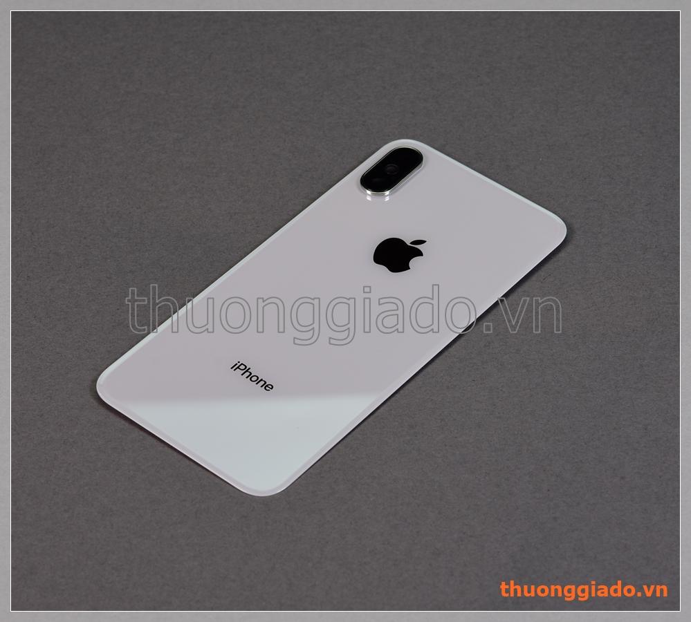 """Thay kính lưng Apple iPhone X (5.8"""")., kèm kính và vành viền camera sau"""