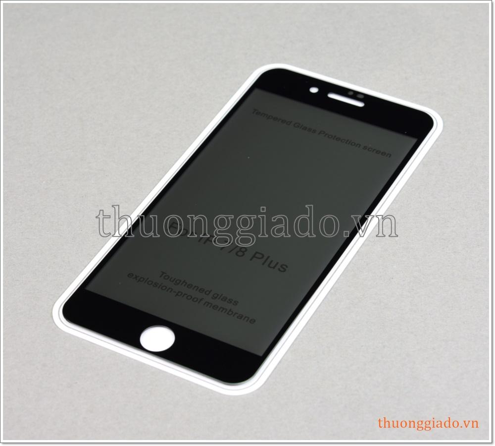 Dán màn hình iPhone 8 Plus, iPhone 7 Plus, dán kính cường lực chống nhìn trộm