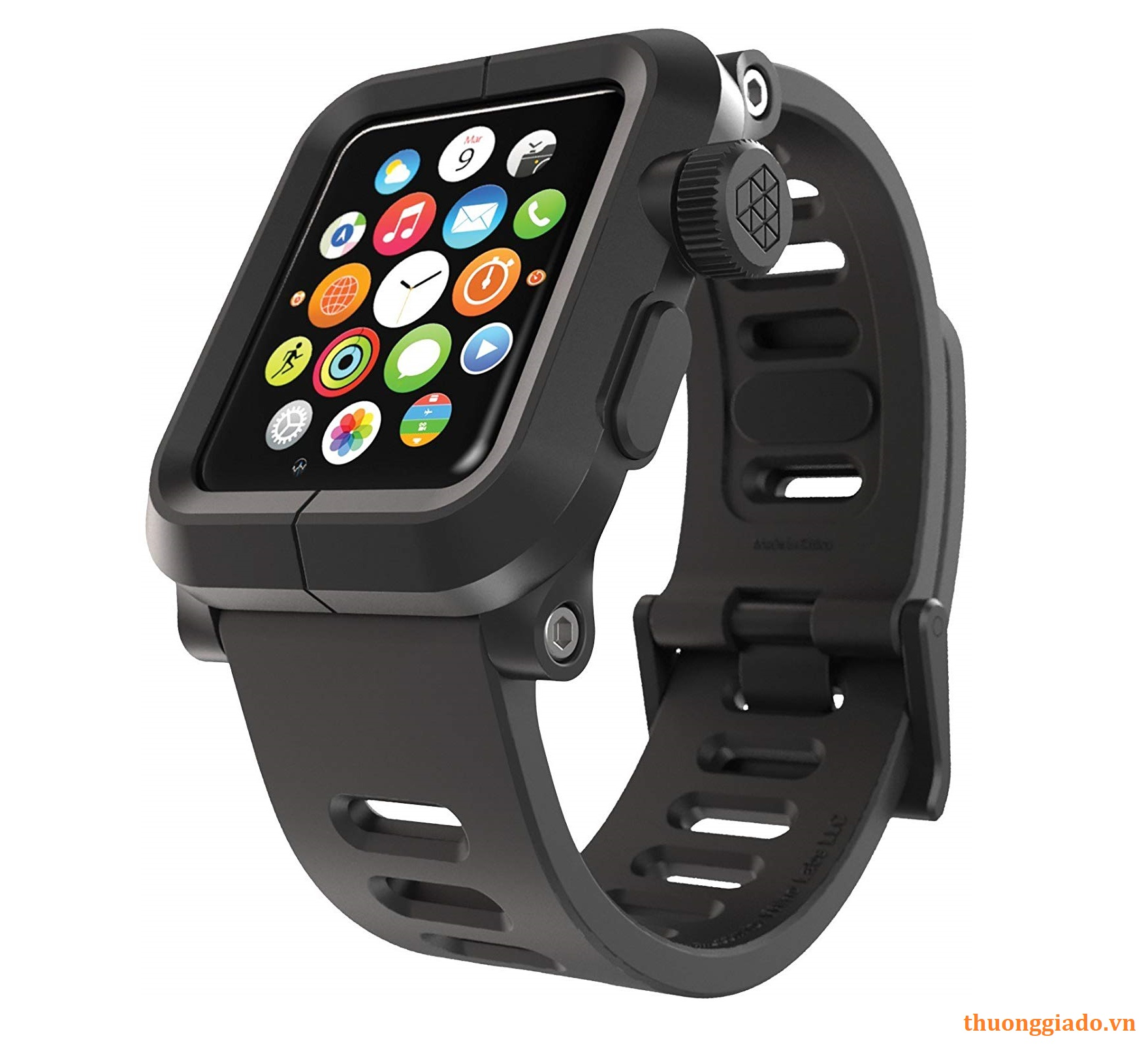 LUNATIK EPIK Polycarbonate Case and Silicone Strap for Apple Watch 42mm Series 1
