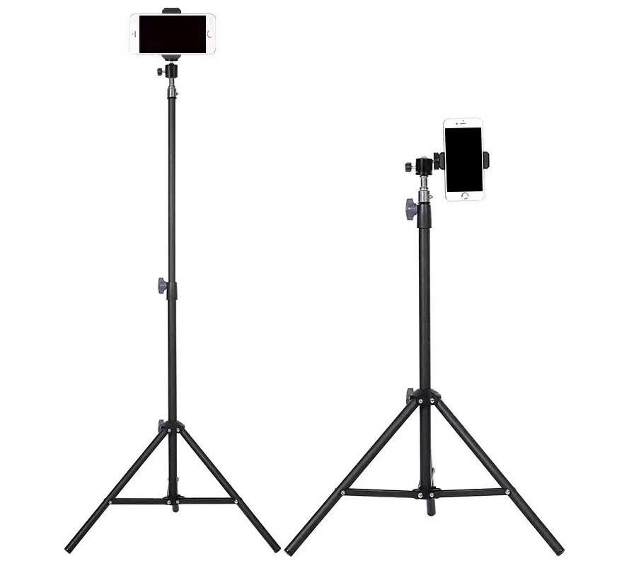 Chân chống tripod giữ điện thoại (chiều cao tối đa 1.6 mét)