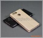 Bao da Huawei Nova 2 Plus, bao da cầm tay nắp gập mở, hiệu Vili