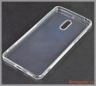 "Ốp lưng silicone Nokia 6 (5.5""), màu trong suốt, hiệu VU case"