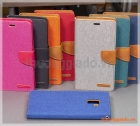 Bao da thời trang Samsung Galaxy A8+/ A8 Plus/ A730 (Hiệu GOOSPERY, CANVAS DIARY)