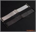 Dây đồng hồ thông minh Apple Watch 42mm (thép không gỉ, mắt nhỏ, mẫu 01)