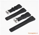 Dây đồng hồ Samsung Galaxy Watch 46mm, Gear S3 Classic màu đen, hàng chính hãng