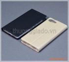 Bao da Blackberry Key 2 LE flip leather case, hiệu Vili